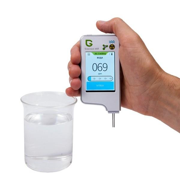 anmez Дозиметр, нитрат-тестер и измеритель жесткости воды GreenTest ECO 6