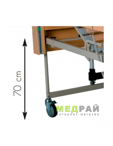 Универсальная функциональная кровать OSD Sofia с электроприводом